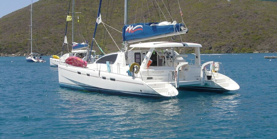 Lagoon 440 (Cat) Sailing Yacht Charter from Corfu, Lefkas and Athens Greece