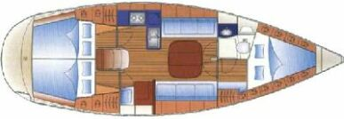 bavaria 36 deck plan