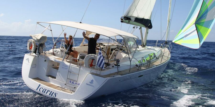 Beneteau Oceanis 50 Sailing Yacht for Skippered Charter in Corfu Greece